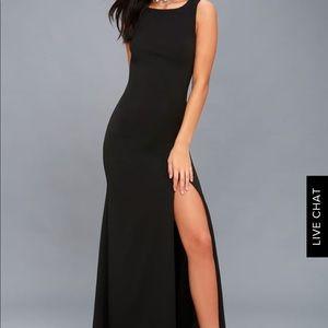 Lulus Black Formal Maxi